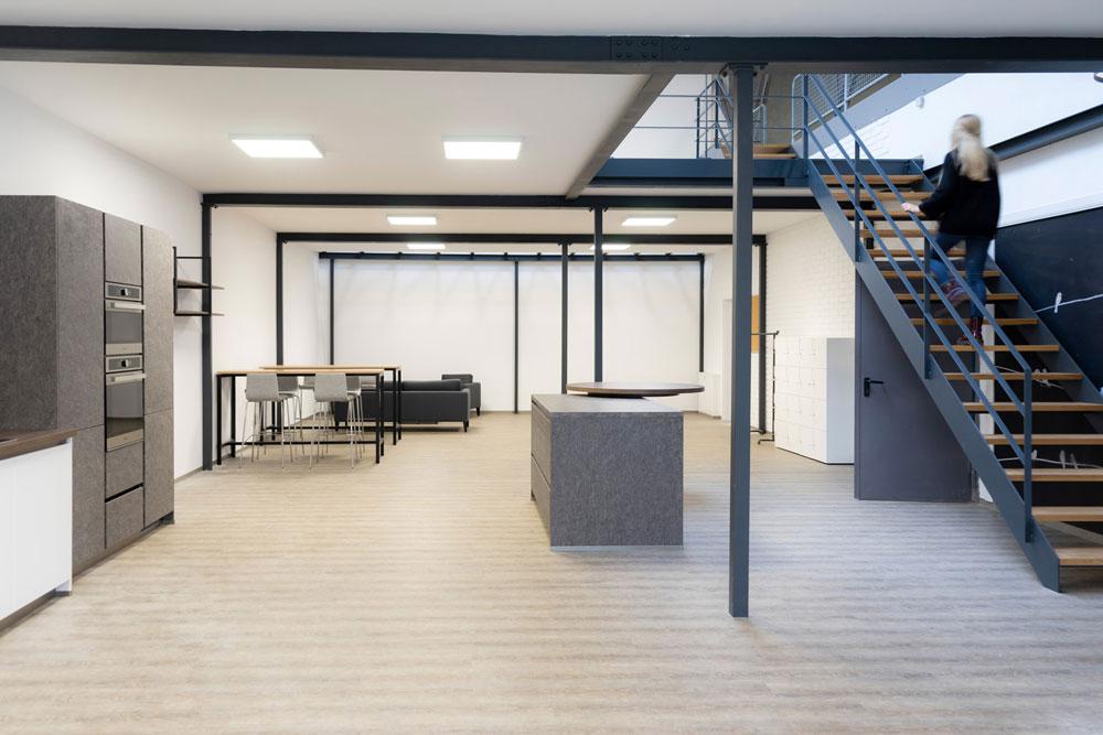 Intillion - Büroansicht - Treffpunkt für Mitarbeiter