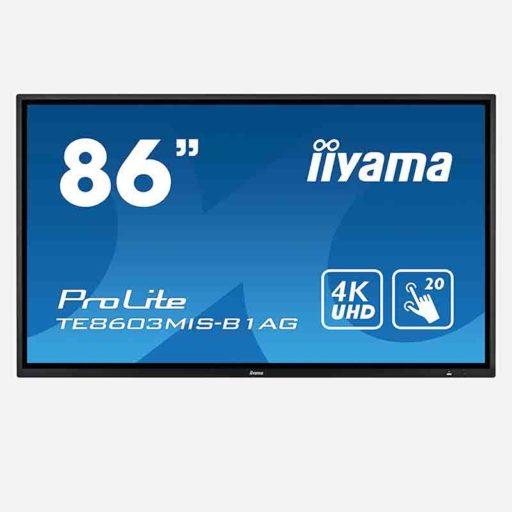 Iiyama PROLITE TE8668MIS-B1AG 86 Zoll Touchscreen clever mieten statt kaufen