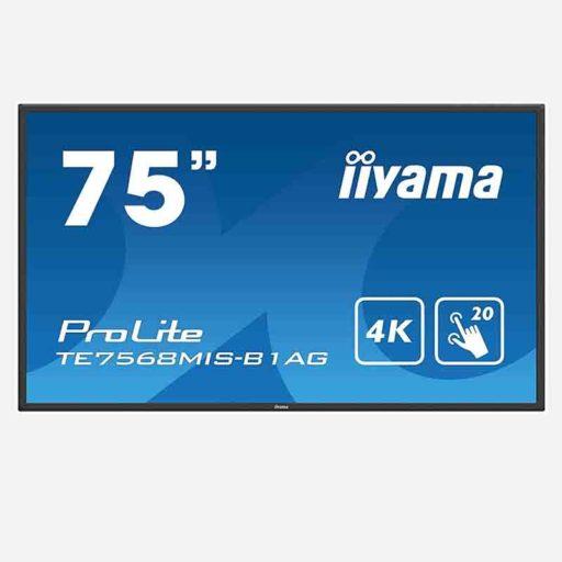 Iiyama PROLITE TE7568MIS-B1AG 75 Zoll Touchscreen clever mieten statt kaufen