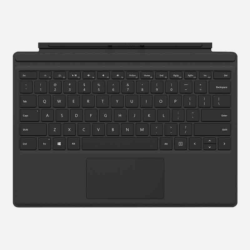 Microsoft Surface Pro Type Cover Schwarz clever mieten statt kaufen